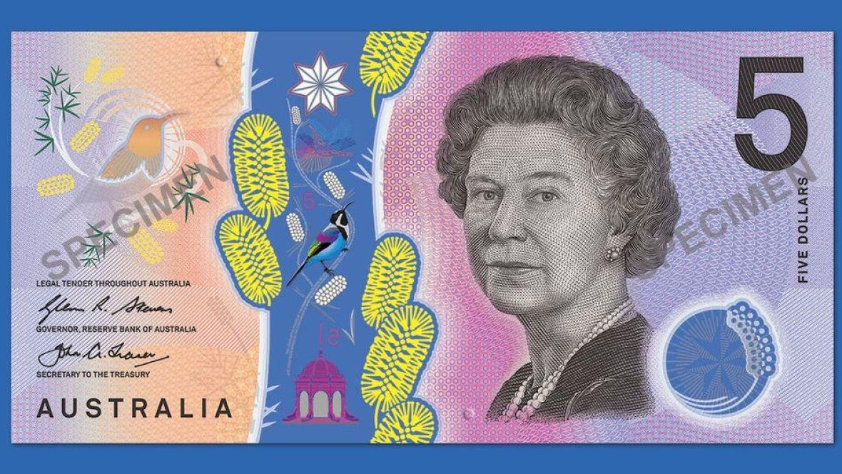 Australia 2016 Next Generation $5 Polymer Bank Note UNC