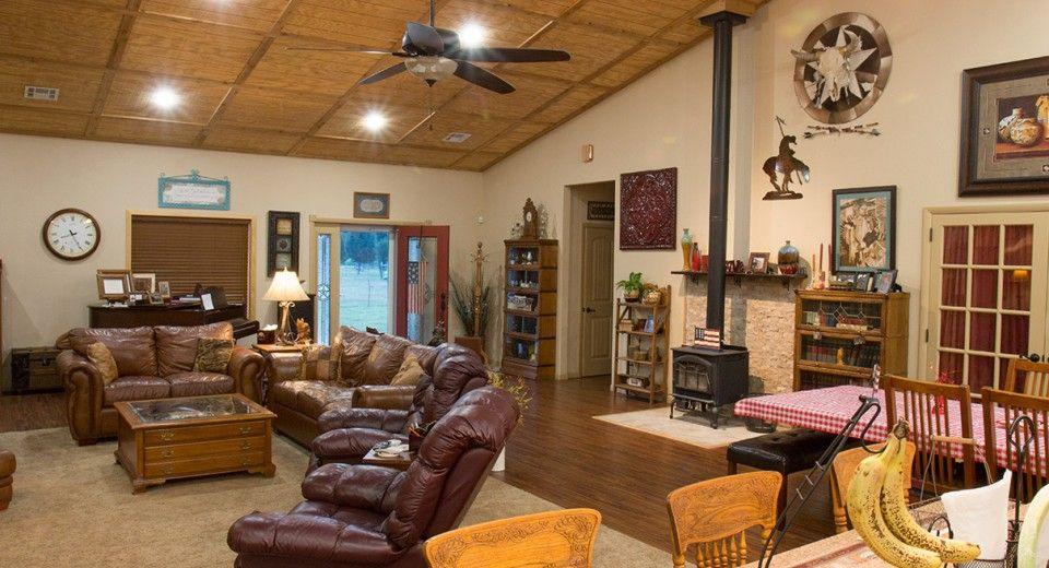 Morton Buildings Custom Home Interior In Kellyville