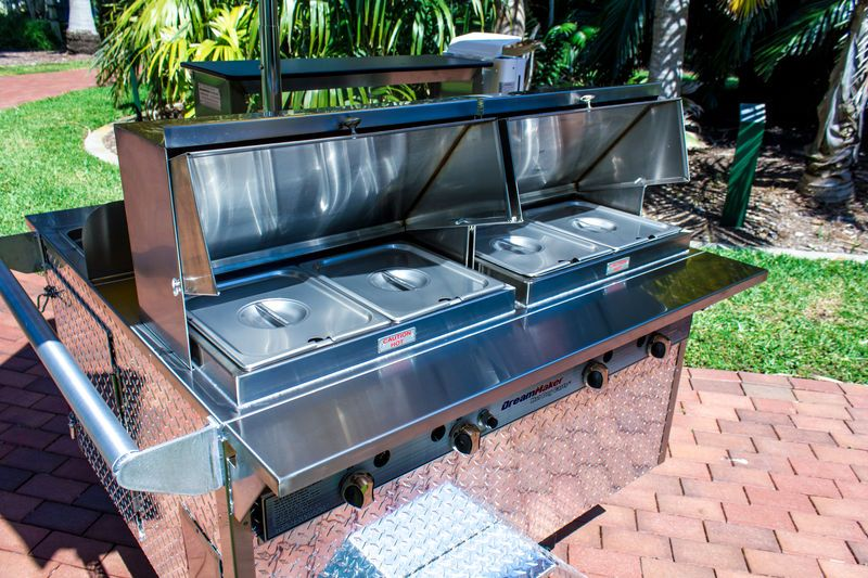 The Riverside Dreammaker Hot Dog With Heavy Duty Square Stainless