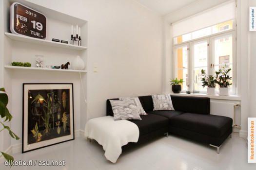 A nook with a sofa / Sohvanurkkaus