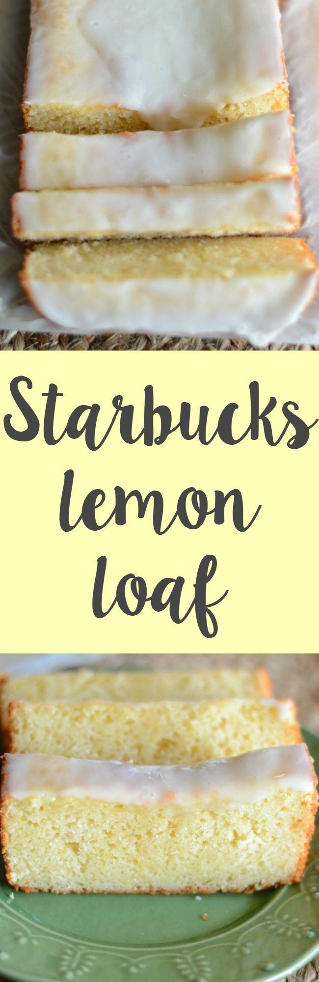 Make Your Own Starbucks Lemon Loaf At Home Super Easy
