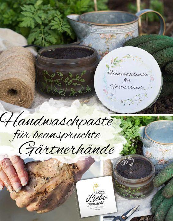 Finalmente l'ora del giardino – pasta lavamani per mani da giardino stressate ♥ Fatto con amore