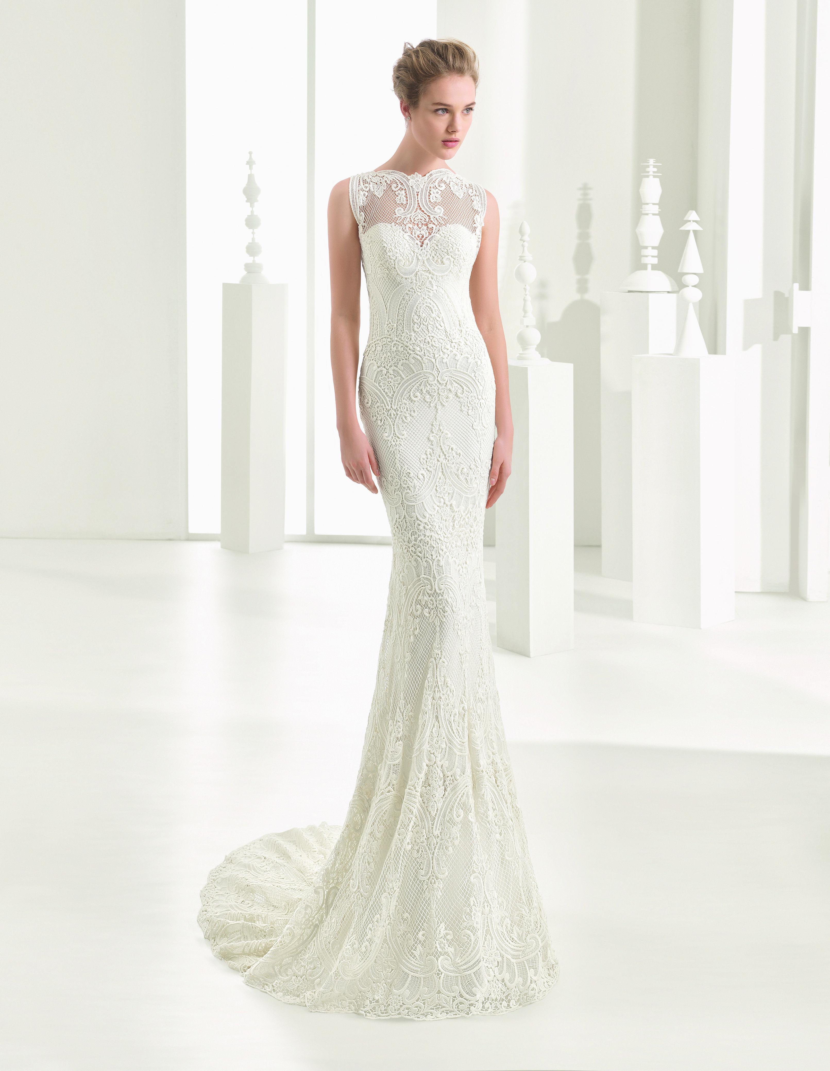 Modelo Naif   Unique wedding gowns, Luxury wedding dress, Wedding ...