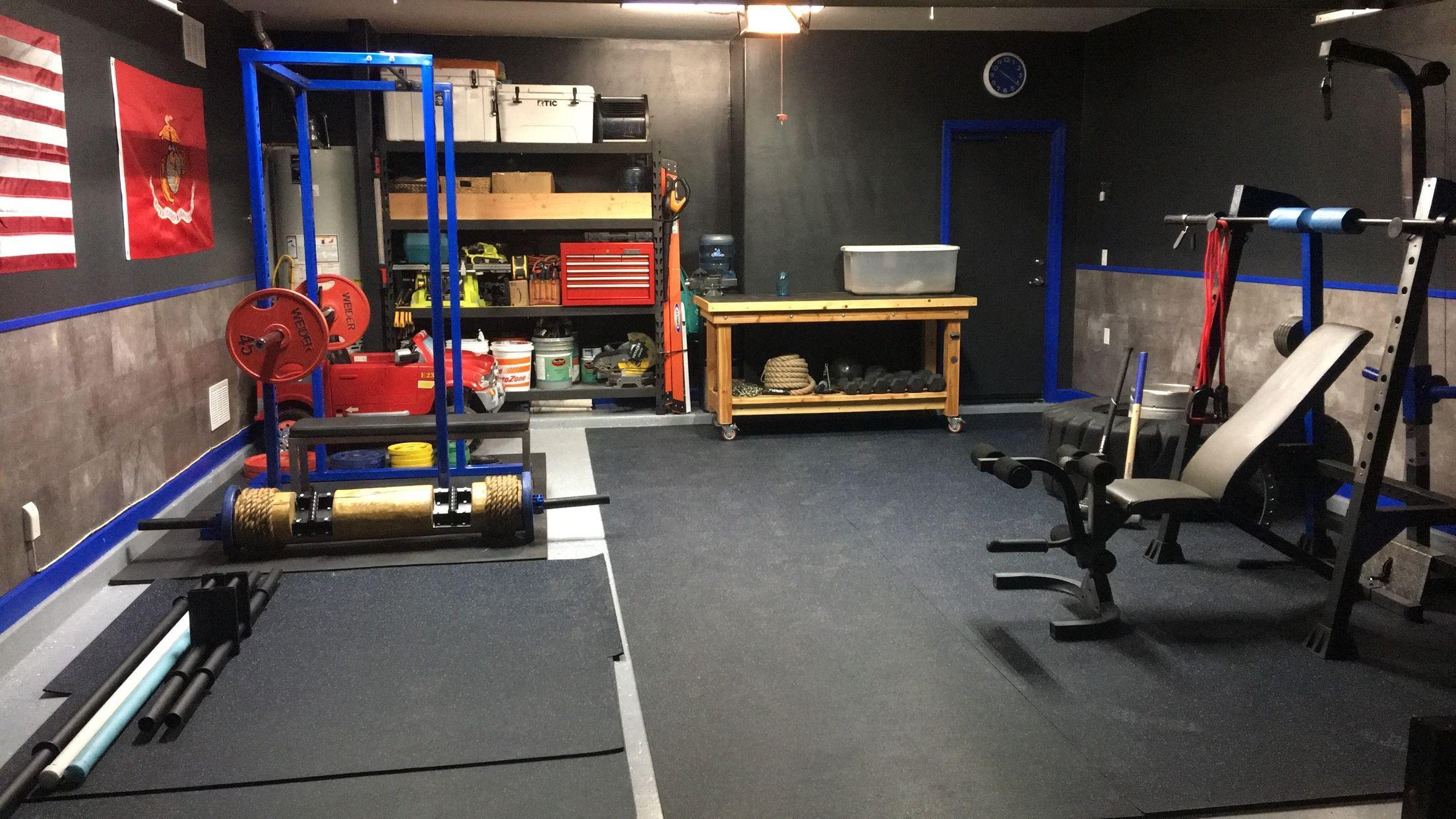 Garage gym gym fitness home gym decor gym decor garage gym