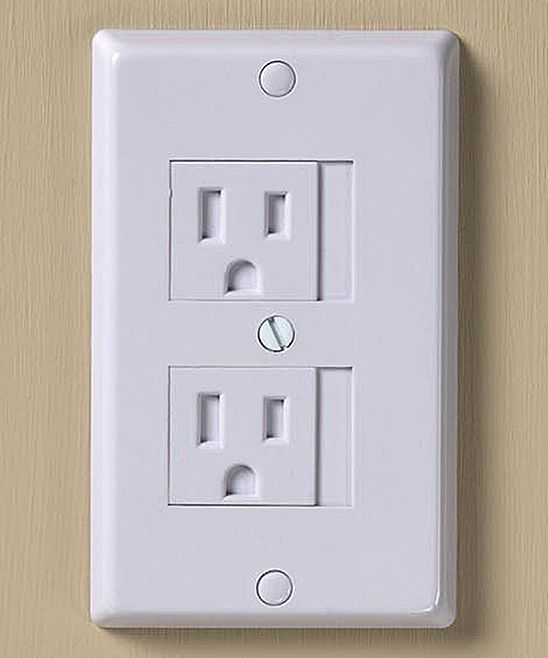 White Universal Outlet Cover - Set of Six | zulily