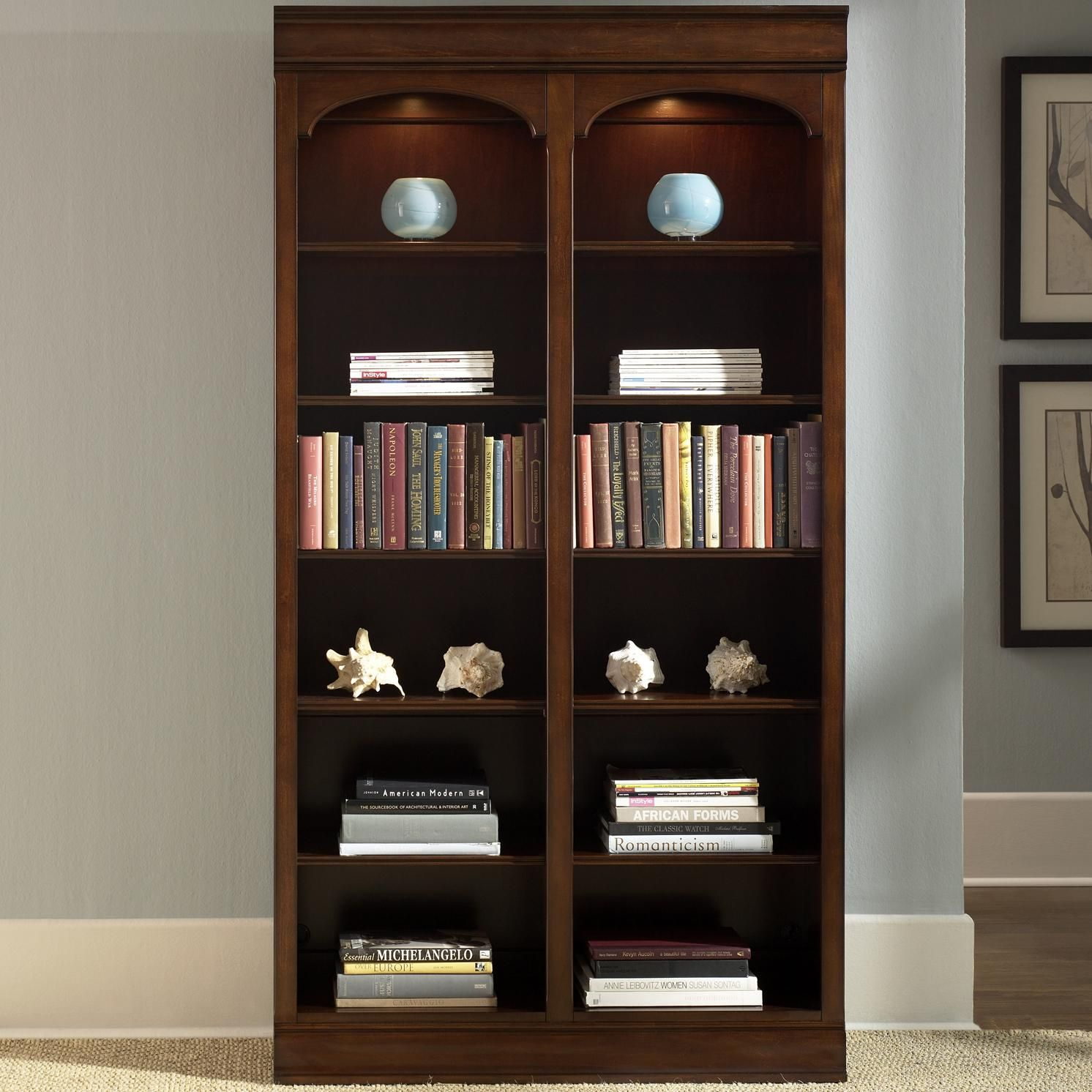 Louis Bunching Bookcase by Liberty Furniture