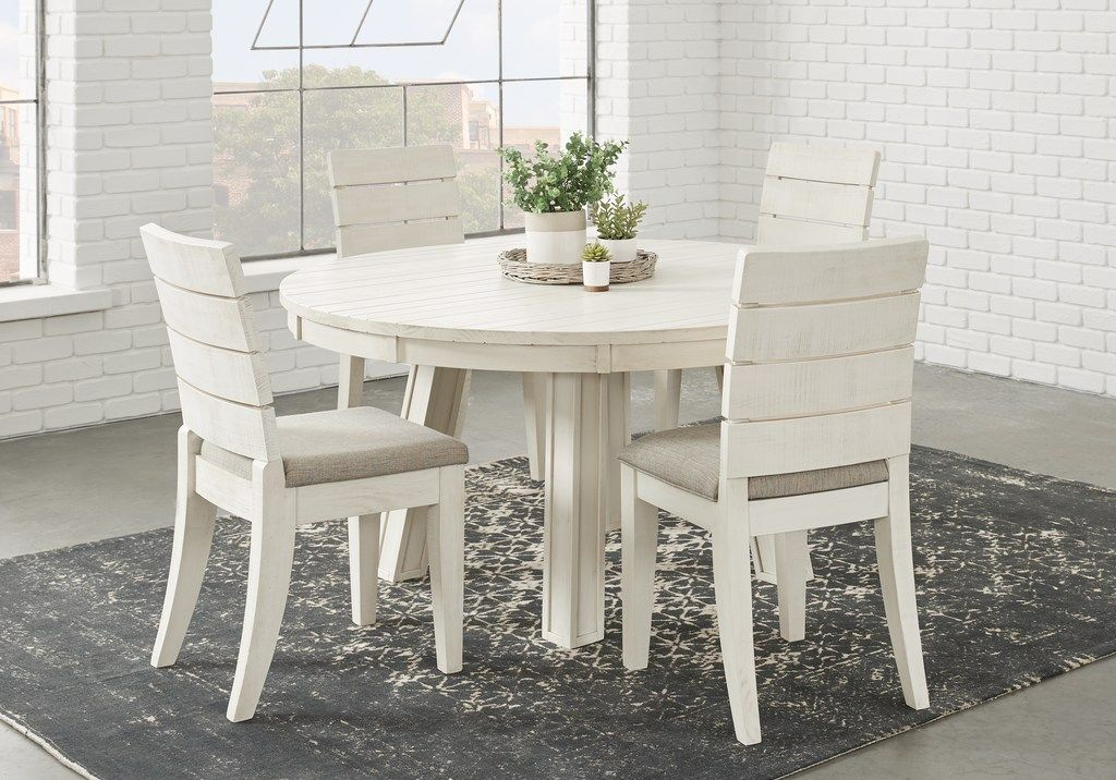Crestwood Creek Ivory 5 Pc Round Dining Room Dining Room Sets