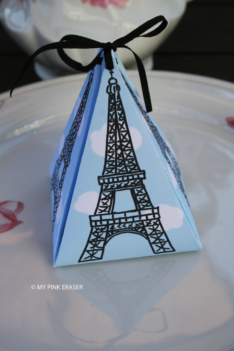Paris gift box Paris Party gift Bon Voyage Favors,Paris Party Supplies Paris favors Paris Birthday Party favors Paris Party Favor Boxes