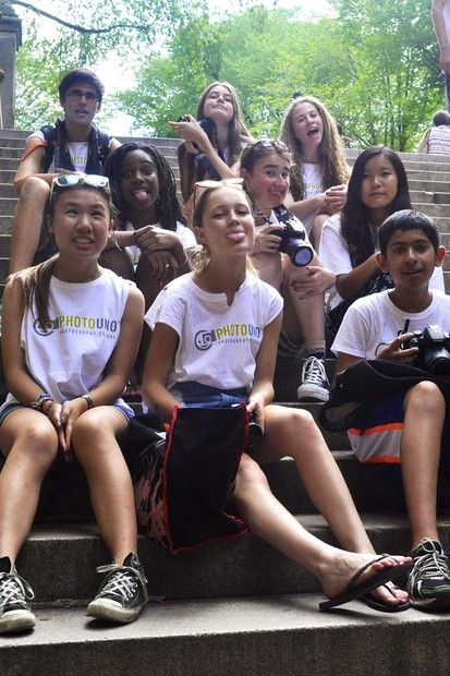 Rosie Lu PhotoUno Gallery Picture: Summer Camp Shenanigans; Practicing group portraits at Central Park!!