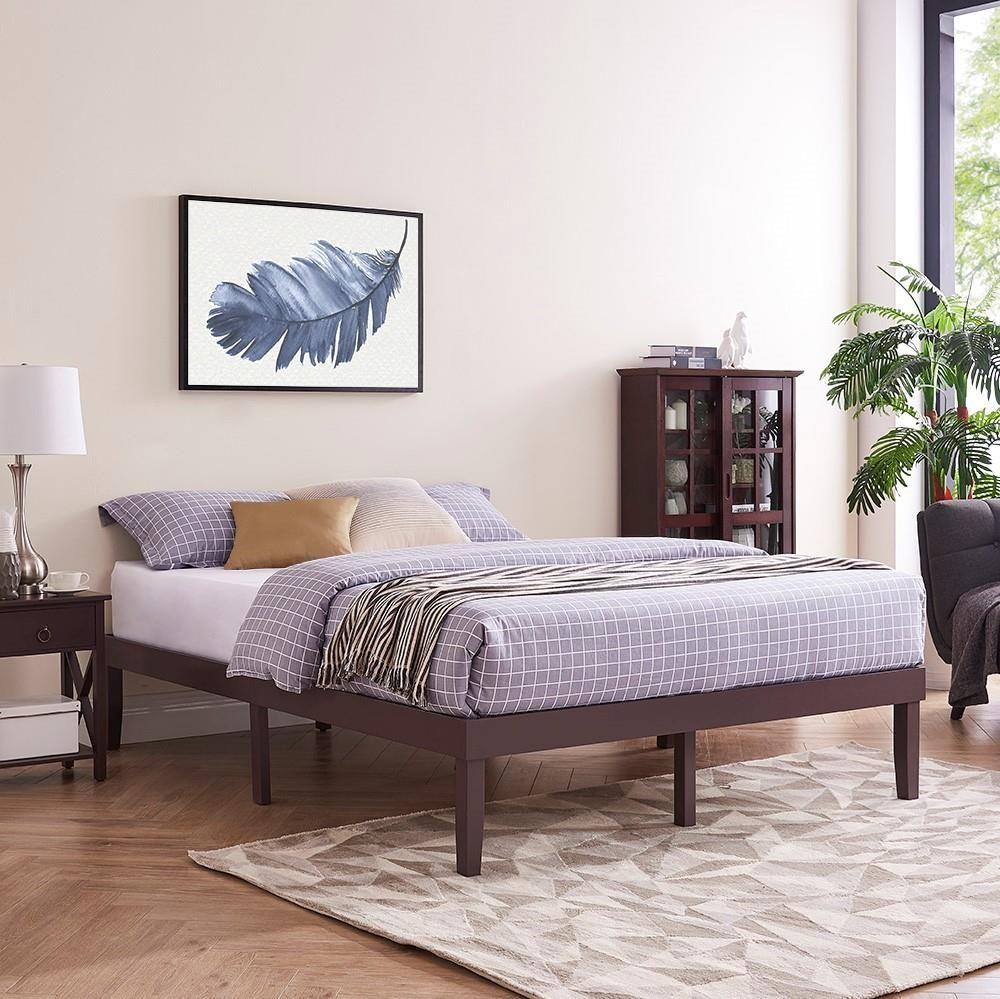 Lize Wood Platform Bed in 2020 Wood