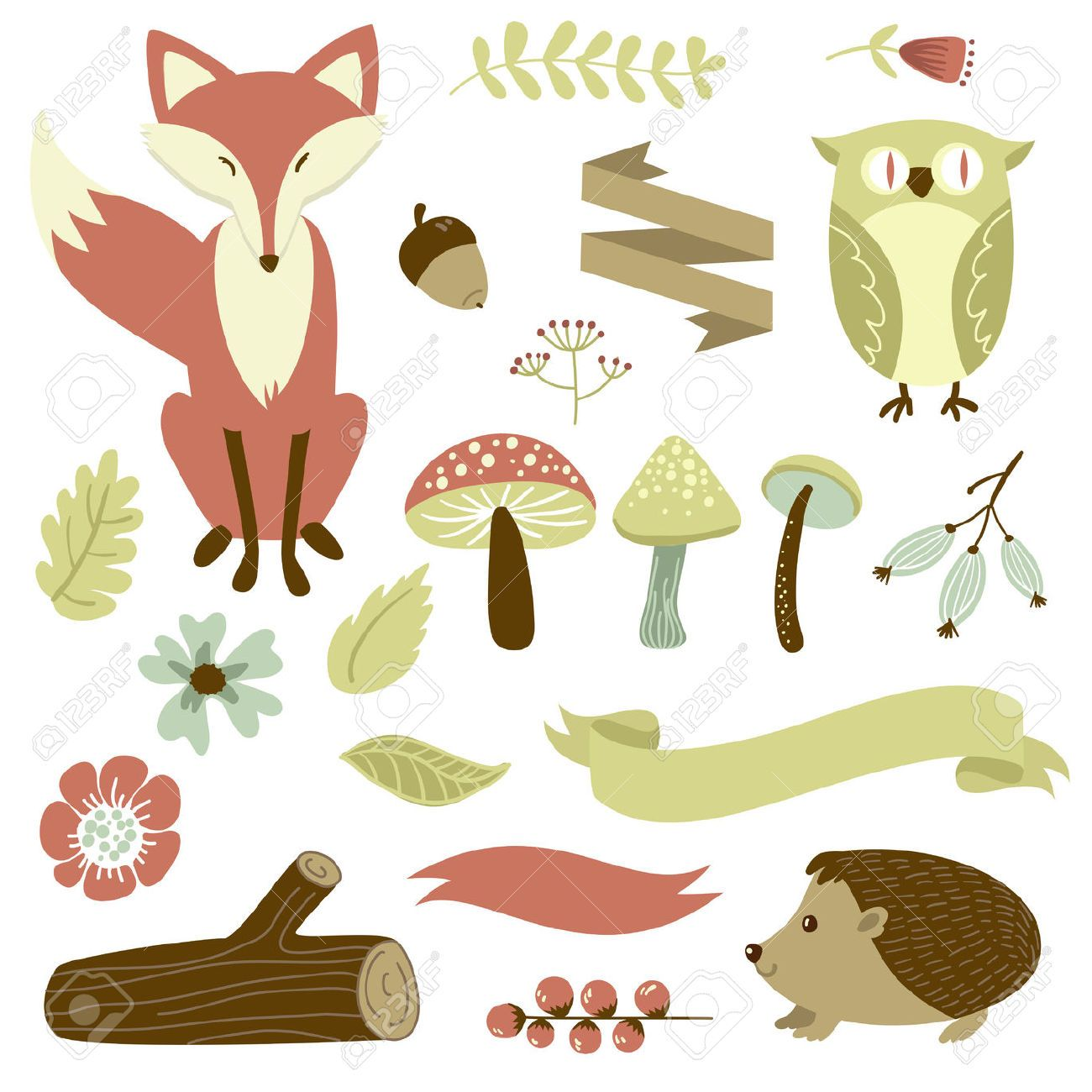 Free Printable Forest Animal Silhouettes