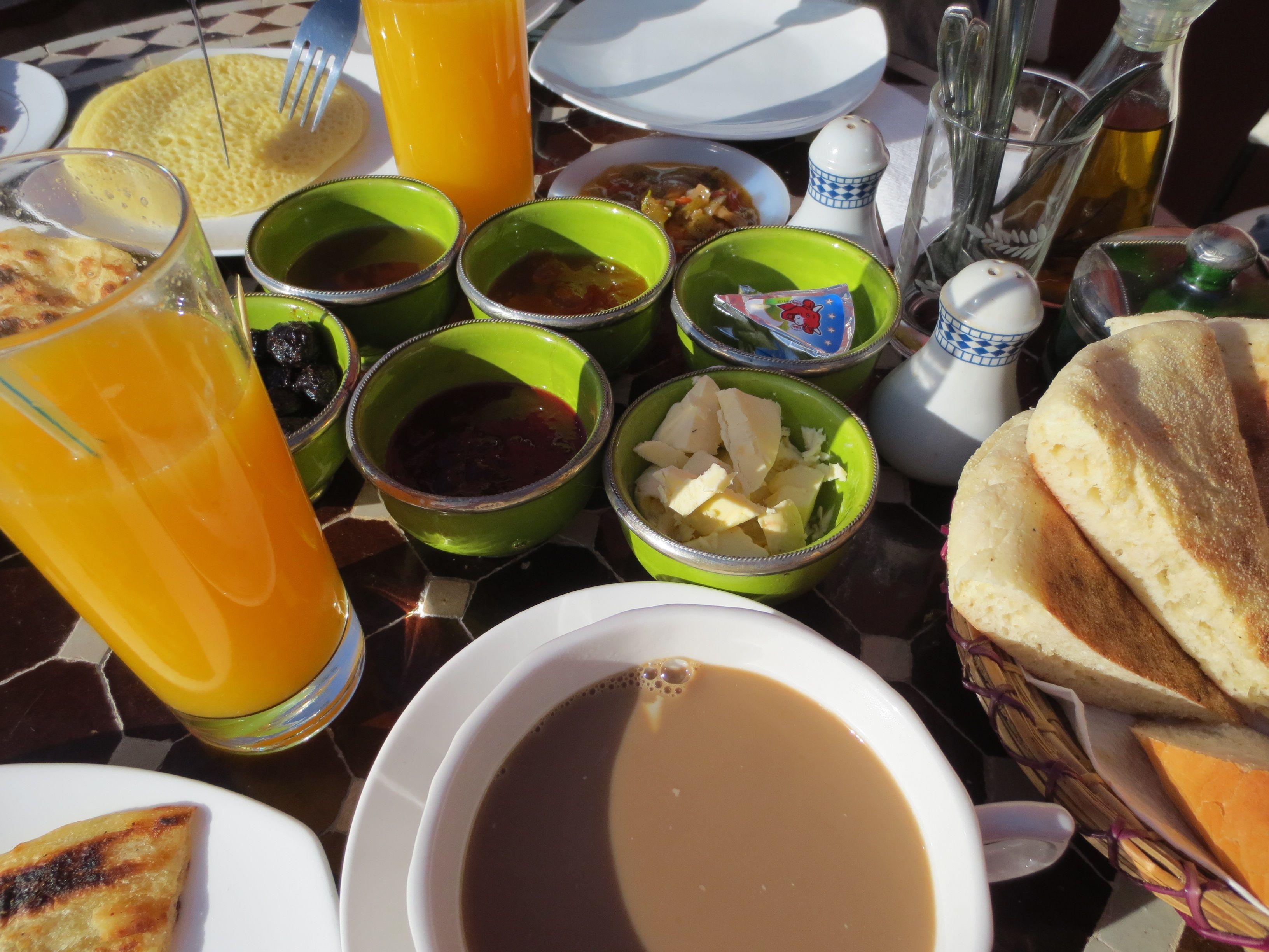 Breakfast, Marrakesch, Marokko
