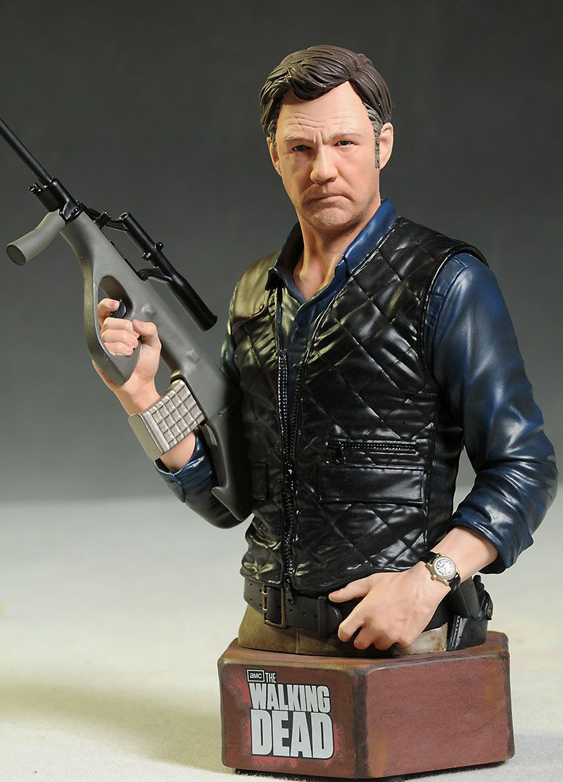 Walking Dead Governor mini-bust by Gentle Giant