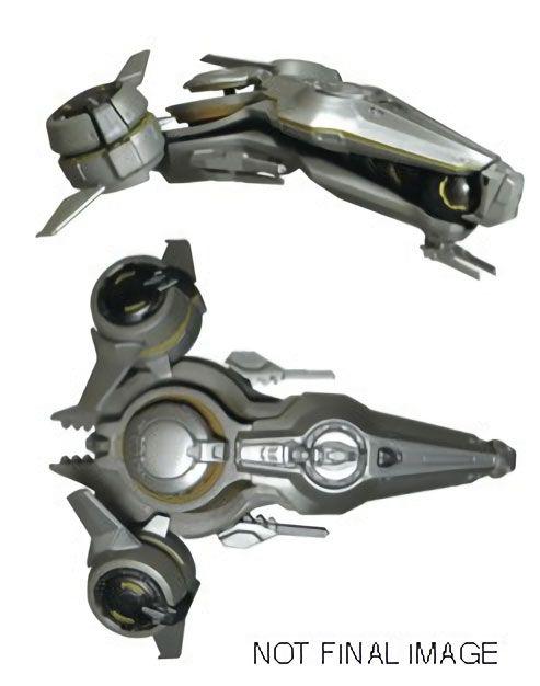 Halo 5 Forerunner Phaeton Ship Replica