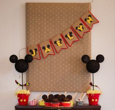 Hey, I found this really awesome Etsy listing at https://www.etsy.com/listing/228091810/mickey-mouse-birthday-banner-birthday