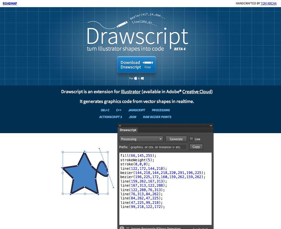 Http Drawscri Pt Convert Ilration Shapes Into Code Mobile