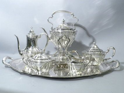 Tiffany Sterling Tea Coffee Set Silver