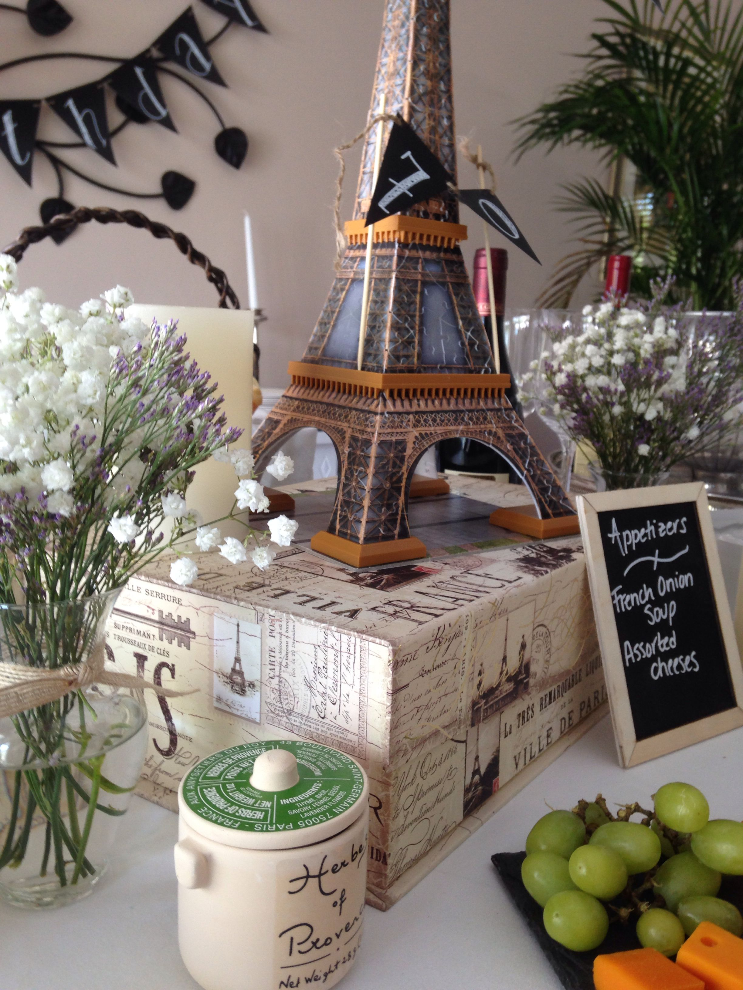 Perfect French Bistro Party Ideas