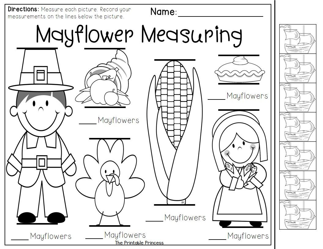 Party Like a Pilgrim - Thanksgiving Activities and Centers for ...