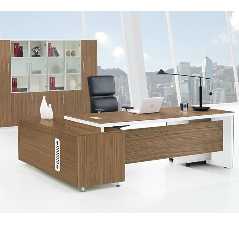Price Whole Melamine Office Furniture Desk Modern Manager Design