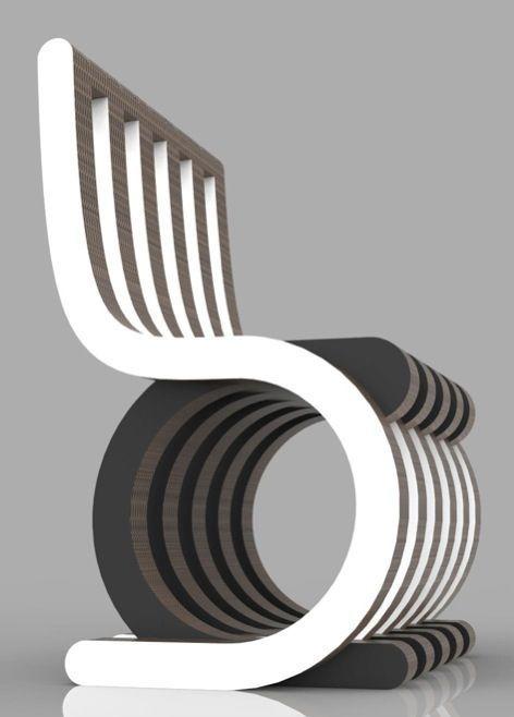 Twist Chair By Giorgio Caporaso Chair Design Modern Chair