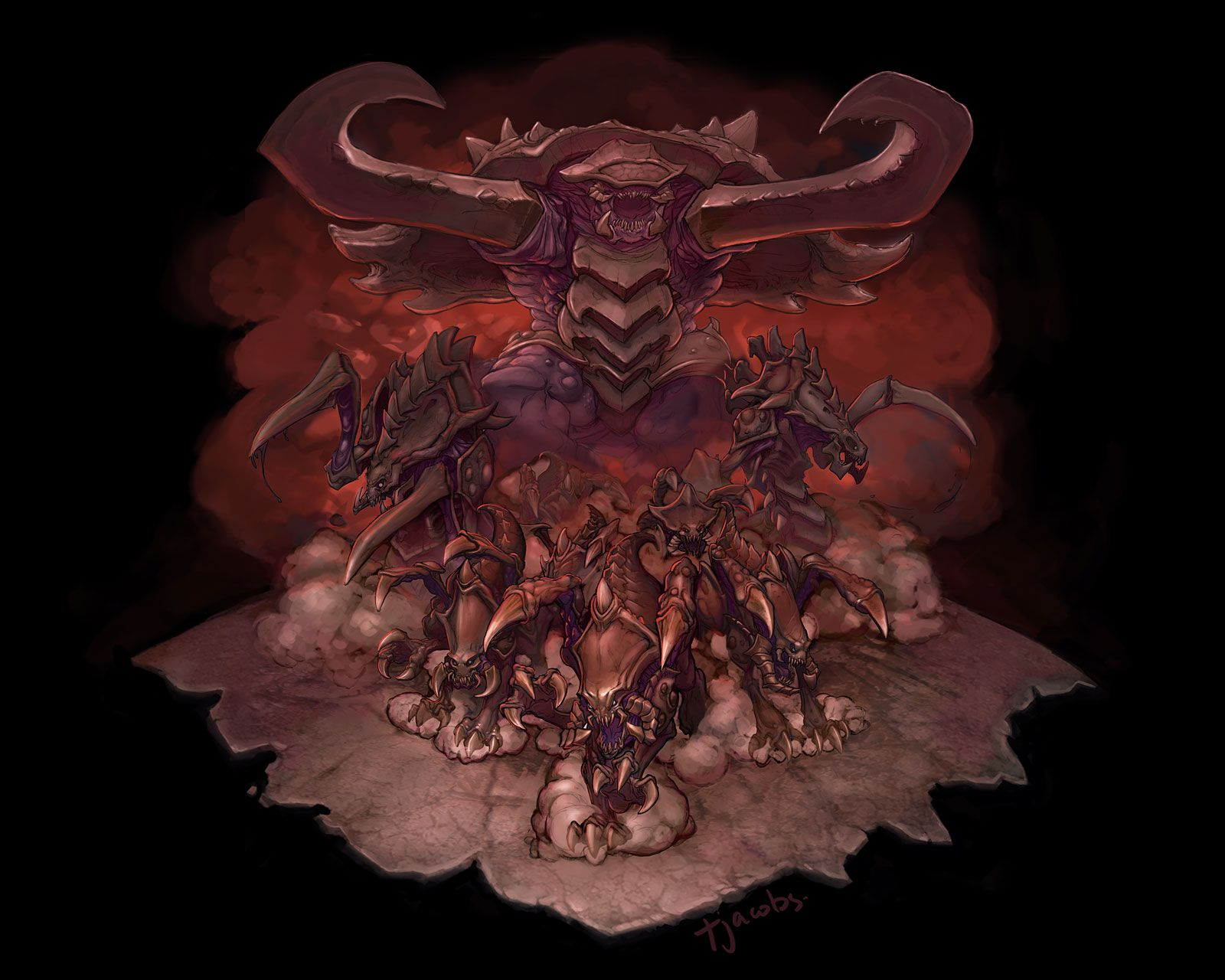 Zerg rush - The Zerg Why Pick Just One When The Entire Concept Of This Race Is So