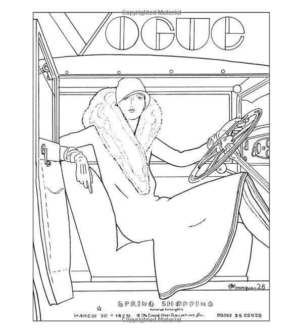 Robot Check Fashion Coloring Book Colorful Fashion Coloring Books
