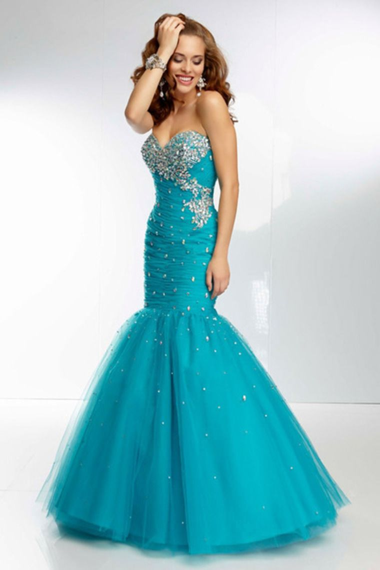 2014 Prom Dresses Mermaid Plus Size 18 W Light Sky Blue Under 100 ...