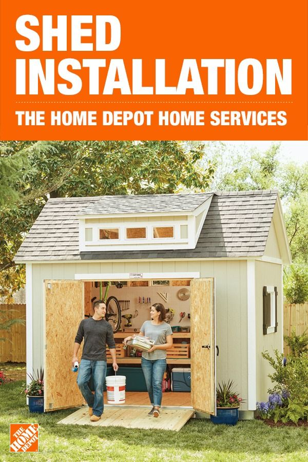 Get your shed installation done with help from a local