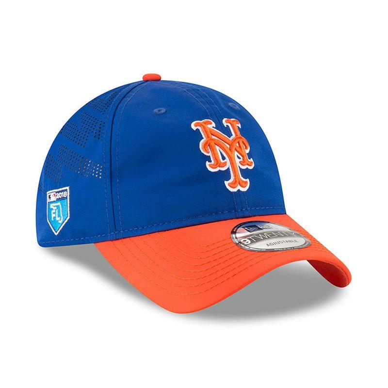 best sneakers 63038 60d98 New York Mets New Era 2018 Spring Training Collection Prolight 9TWENTY  Adjustable Hat – Royal