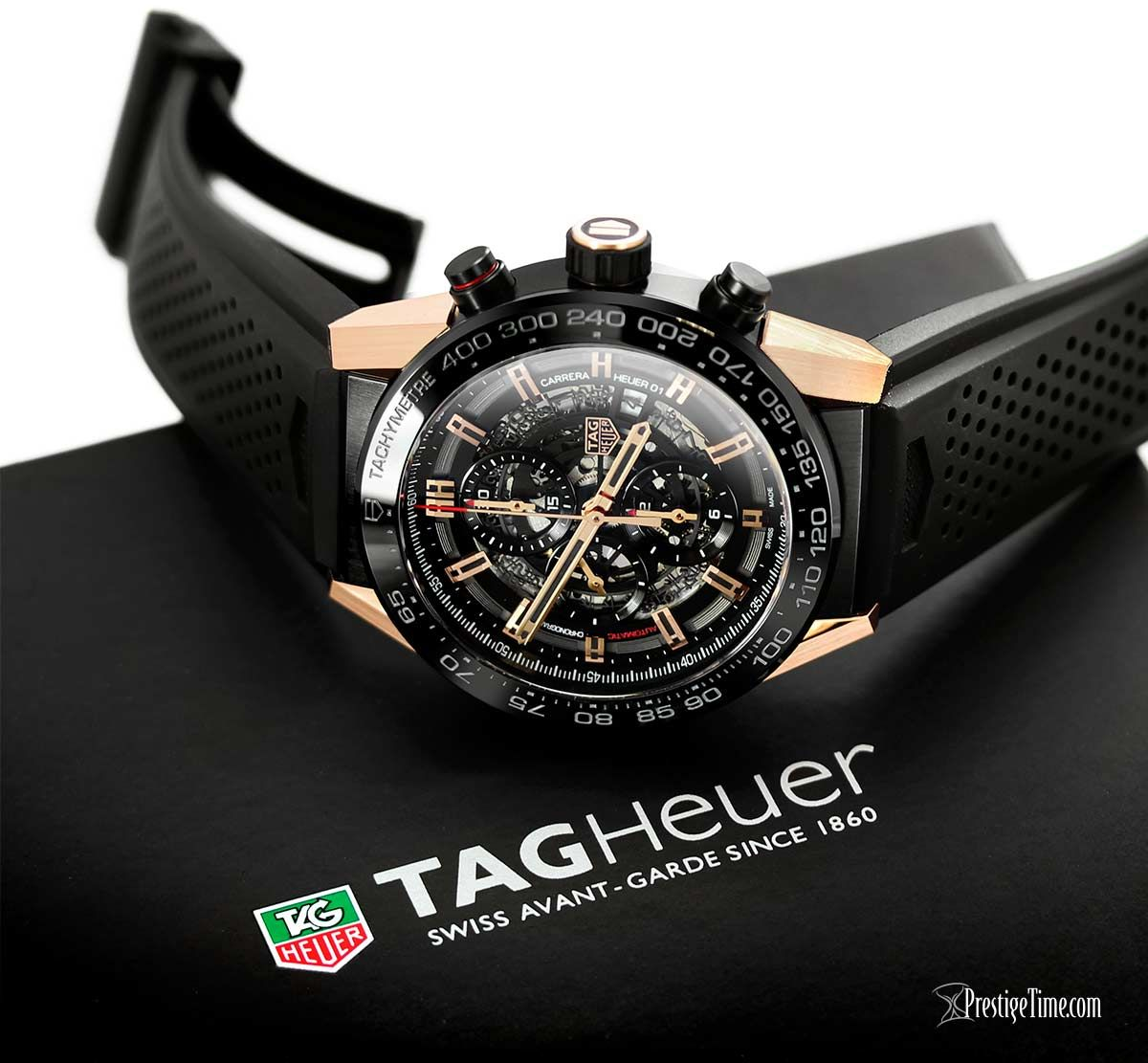 0623ee58e64 Full Review  TAG Heuer Carrera Caliber Heuer 01 Skeleton Watch