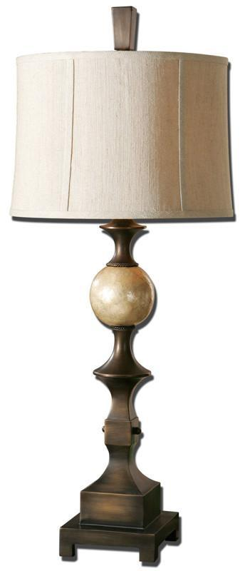 Uttermost 27390 tusciano bronze table lamp