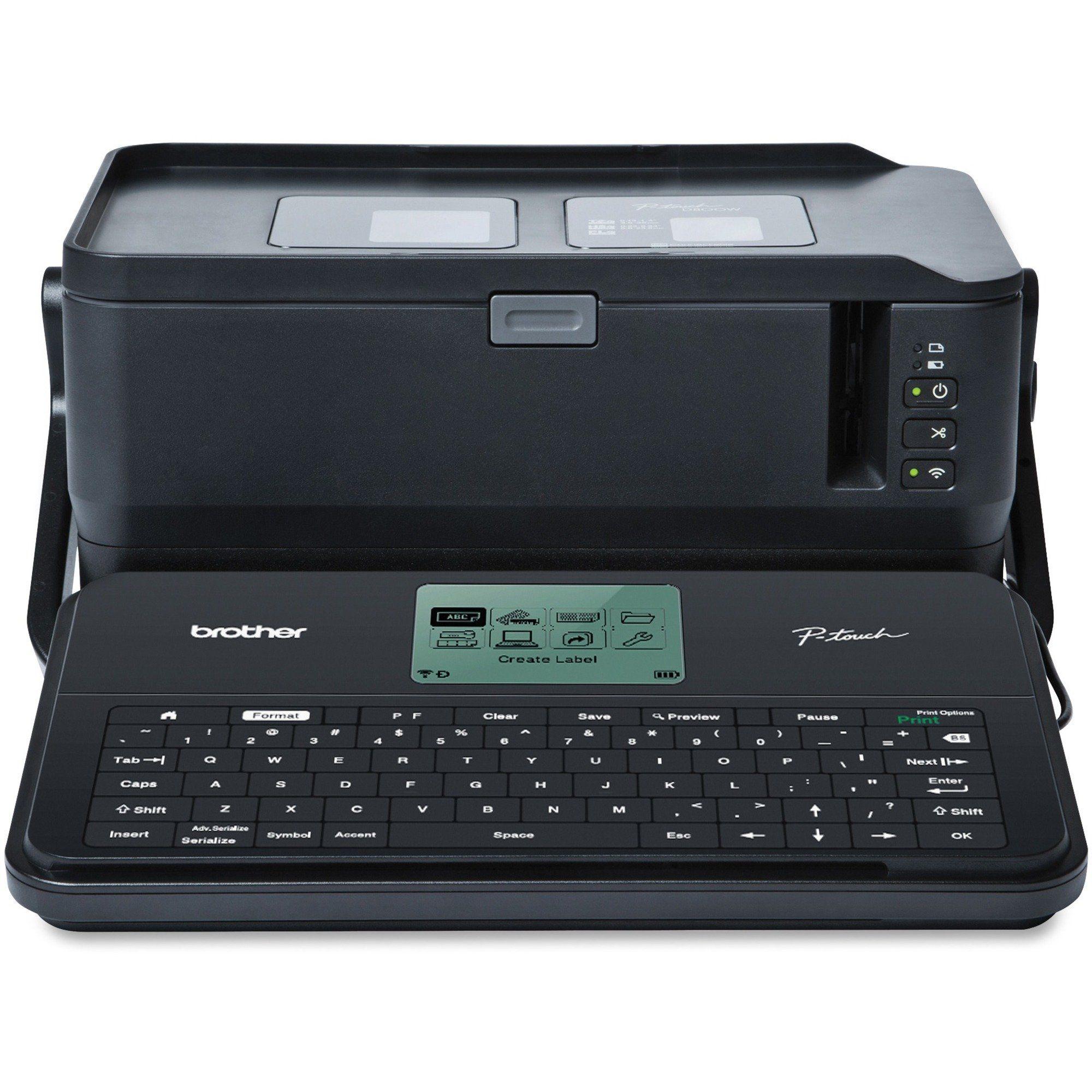 Brother Ptouch PTD800W Thermal Transfer Printer Desktop
