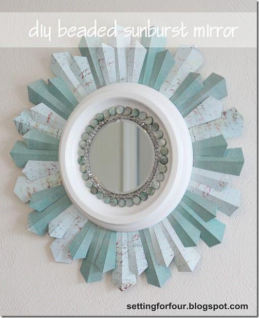 25 Cute Diy Home Decor Ideas Diy Mirror Sunburst Mirror Decor Tutorials