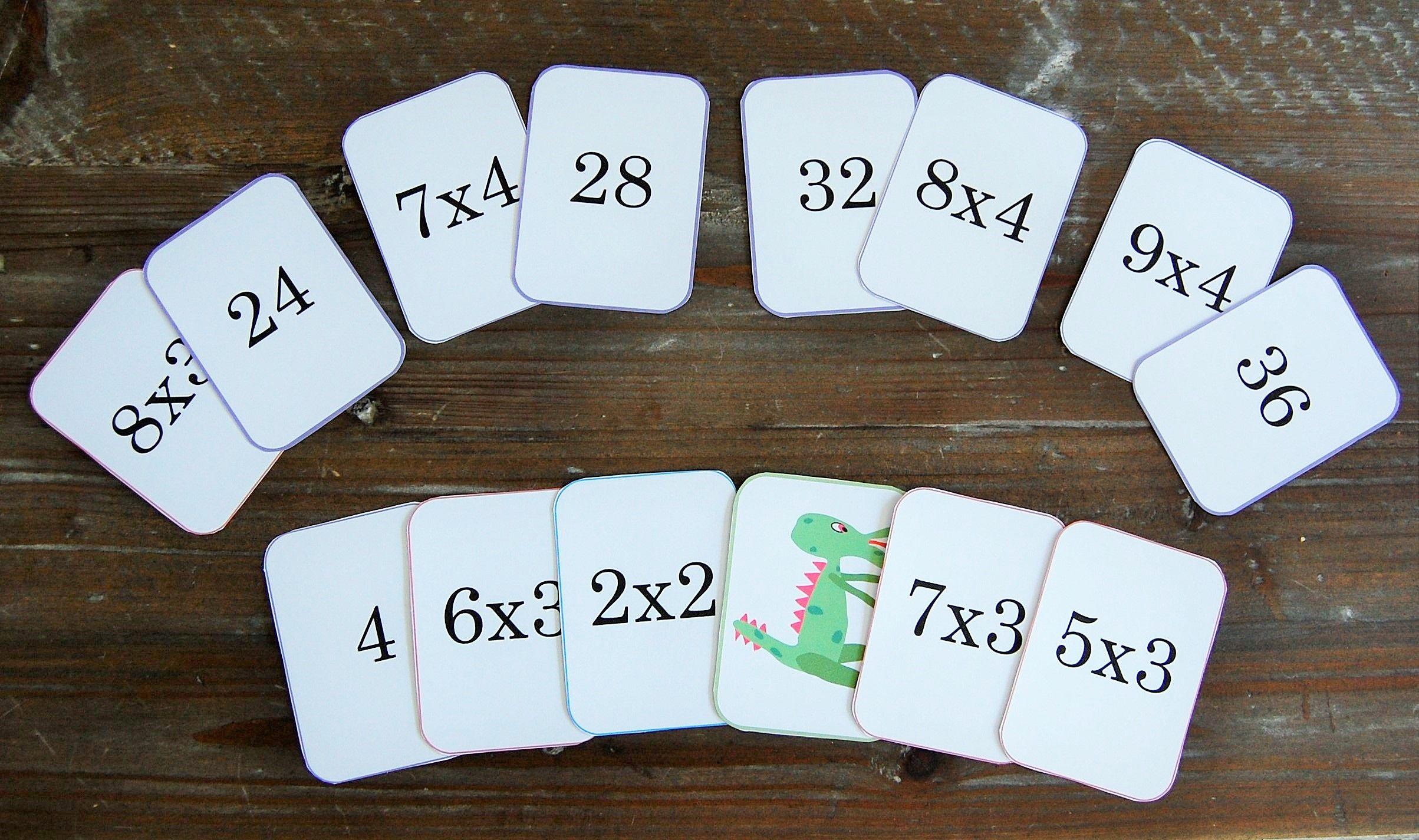 Jeu pour compter mistigris des tables de multiplication - Jeu pour apprendre les tables de multiplication ...