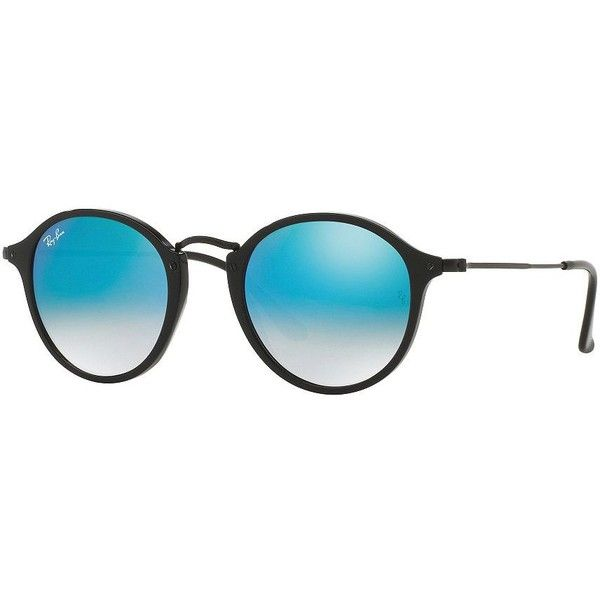 3496d8ddf84c Ray-Ban Mirrored Pantos Sunglasses ( 139) ❤ liked on Polyvore featuring  accessories