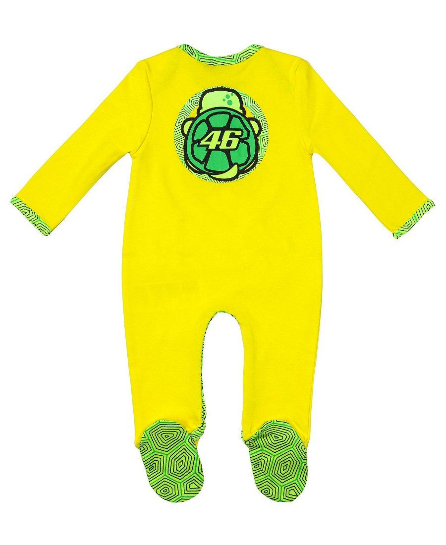 VR46 BABY BODY SUIT TURTLE Official Valentino Rossi Merchandise