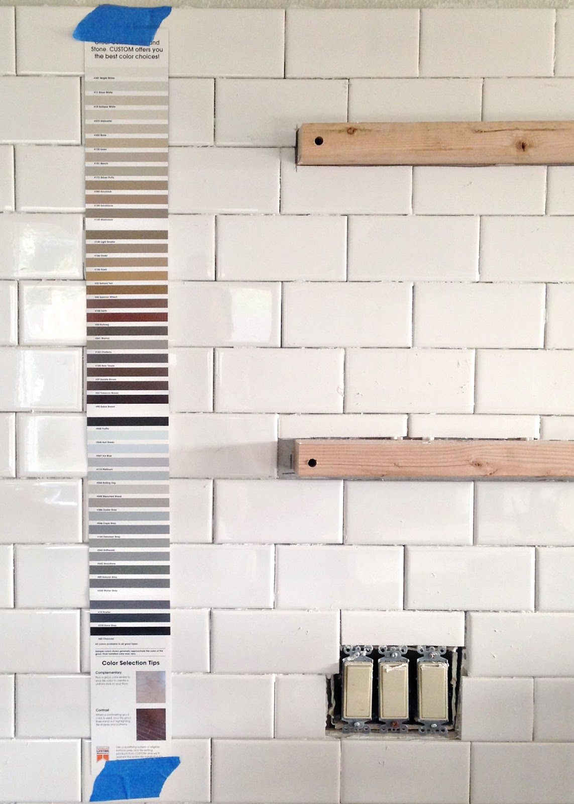 Subway Tile Installation Tips On Grouting With Fusion Pro Beveled Subway Tile Backsplash Subway Tile Design Tile Grout Color