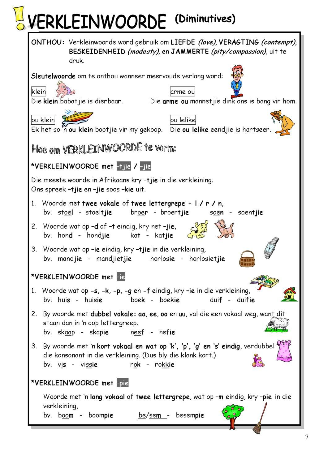 worksheet Grade 4 Afrikaans Worksheets Download literacy free downloads grade 4 parts of speech summary english 1st language to 8 pinterest literacy
