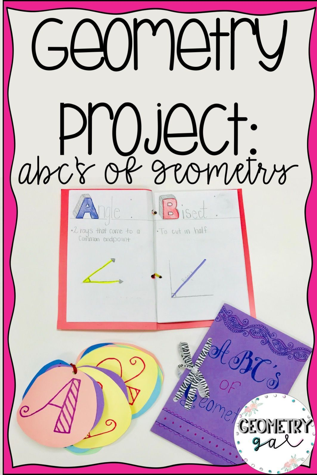 Geometry Project Abc Book Editable