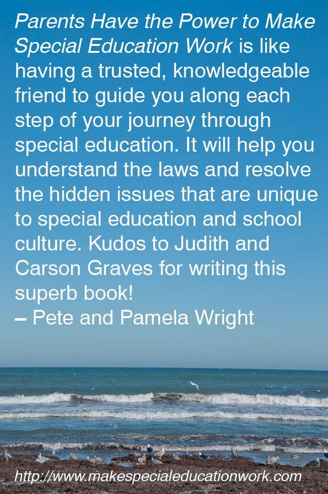 Book Review Parents Have Power To Make >> Reviews Special Education Quotes Special Education Quotes