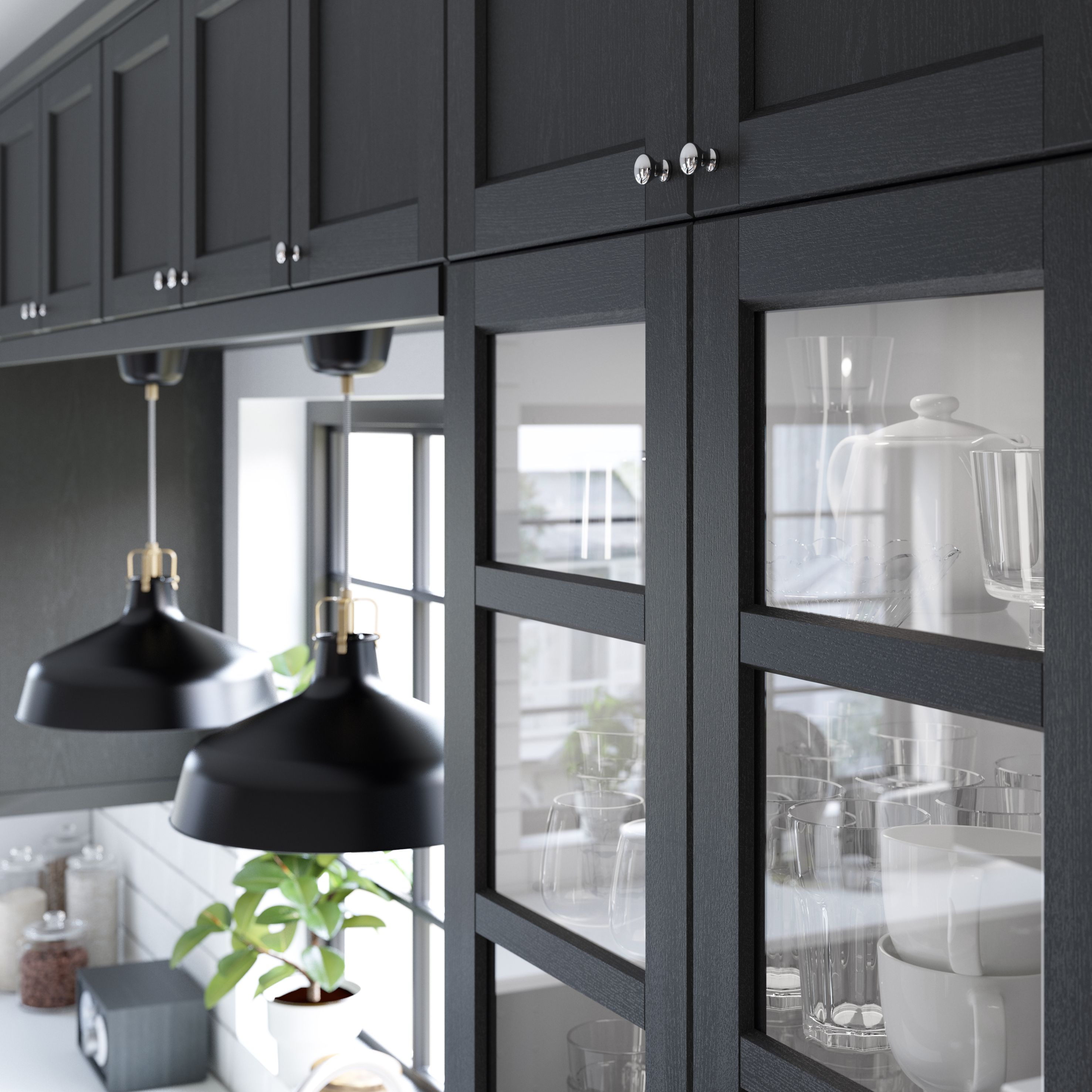 Ikea Black Kitchen