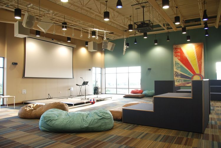 10 Tips For Renovating Or Designing A Youth Room Jackson Galloway Fgm Architects Youth Room Church Youth Rooms Youth Group Rooms