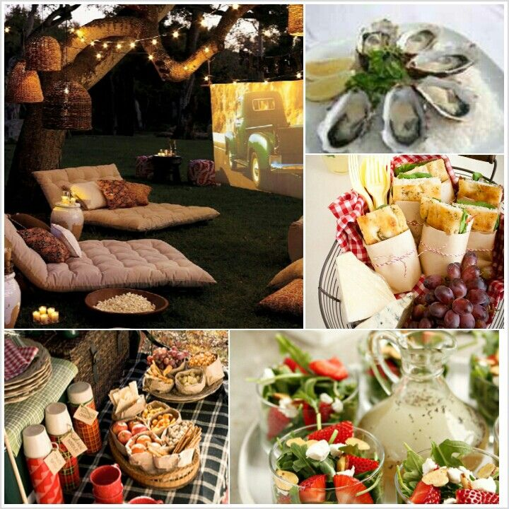 Rustic Outdoor Party Ideas