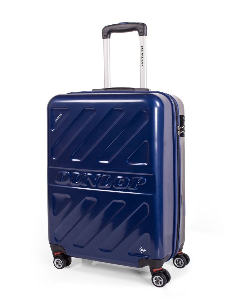 2b68136c5 Maleta de cabina ABS en varios colores metalizados de Dunlop | Viaje ...
