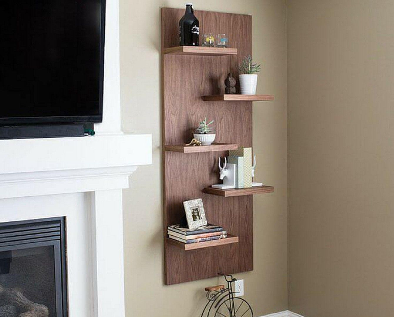 20 Best Diy Hanging Shelves Design Ideas Rak Dinding Rak Kamar Anak