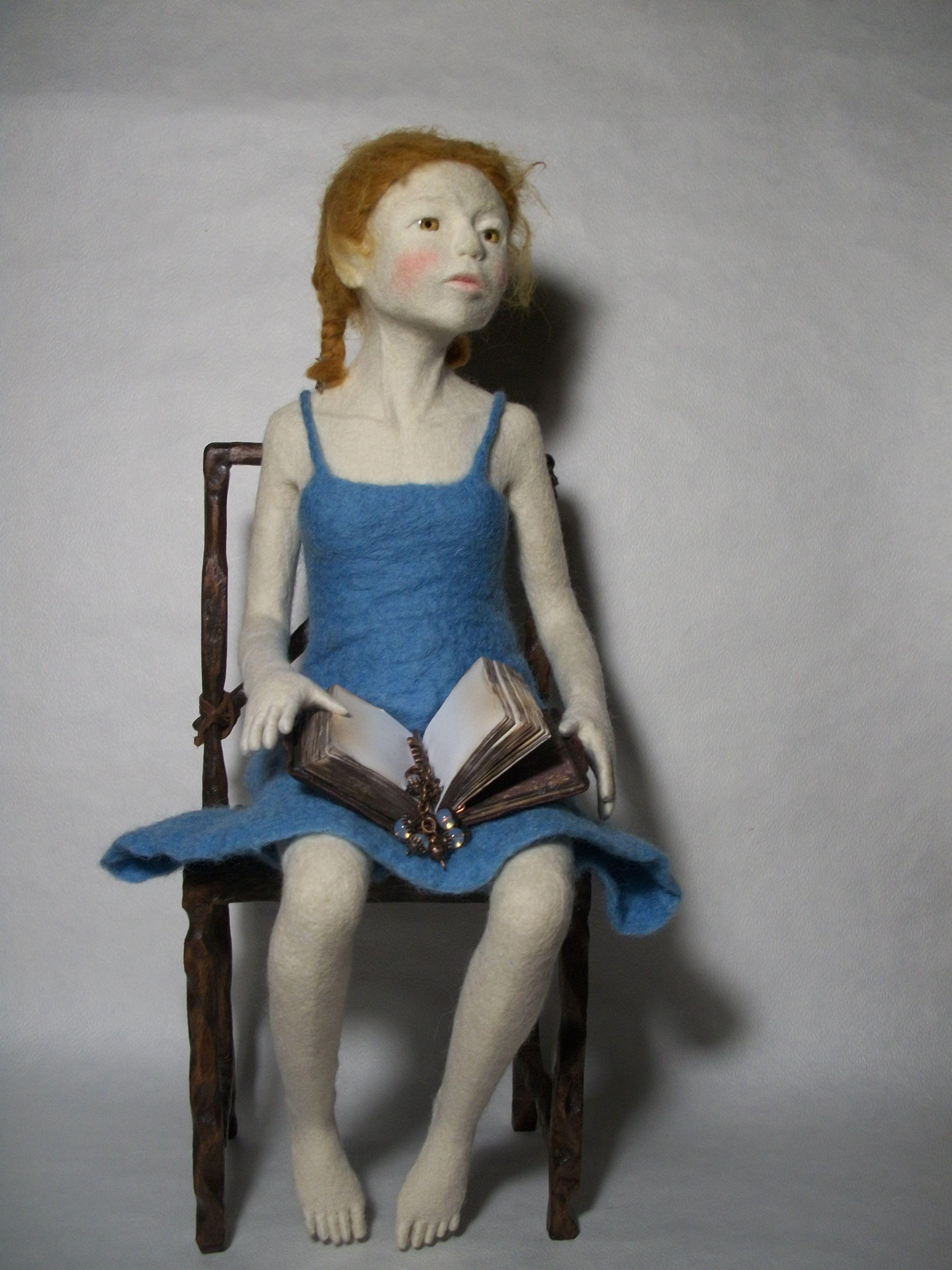 Felt Sculptur by Petrovich Elena. Ukraine
