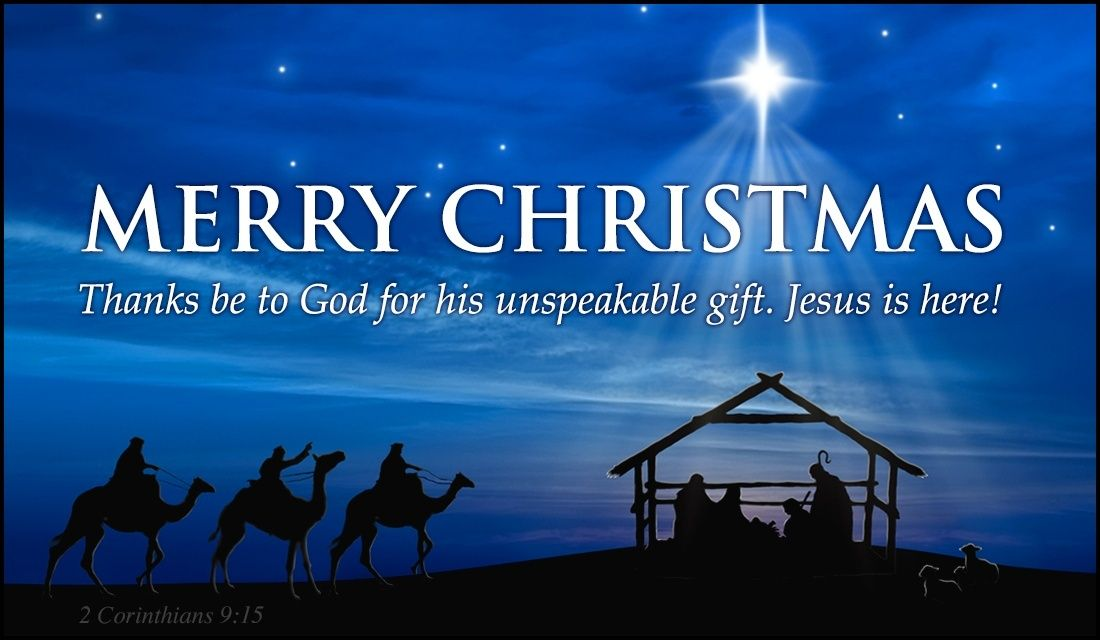 Send this FREE Merry Christmas - Unspeakable Gift eCard to a ...