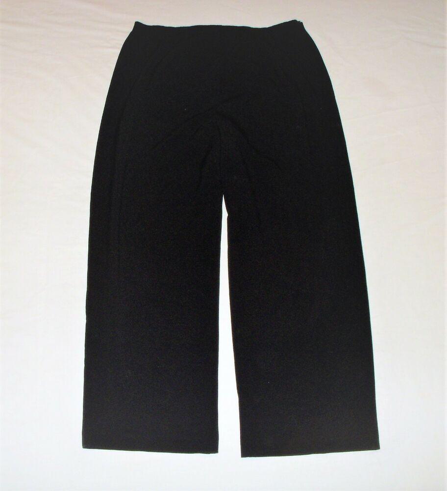 Worthington Women Size 18 Short Pants Slacks Inc 28 Stretch Elastic Waist Black Fashion Clo Womens Black Dress Pants Skinny Pants Women Womens Stretch Pants [ 1000 x 912 Pixel ]