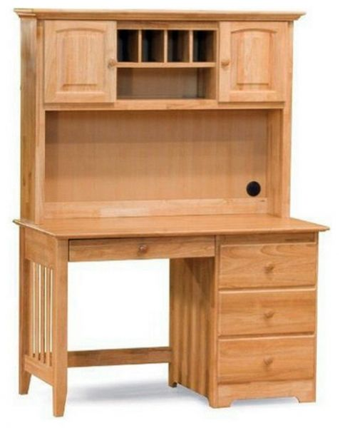Lovely Desk with Hutch